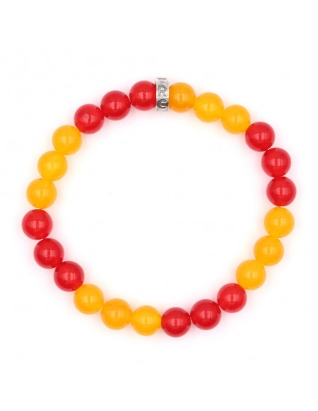 Bracelet officiel Racing club de Lens couleurs maillot domicile